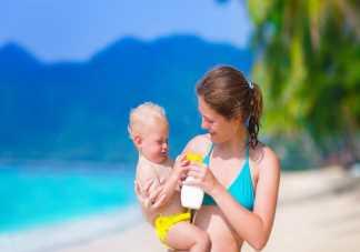 给宝宝防晒霜要涂在哪些部位 宝宝涂了防晒霜需要卸妆吗