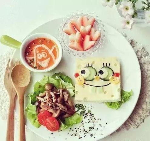 妈妈把早餐画成诗 8款宝宝创意早餐推荐